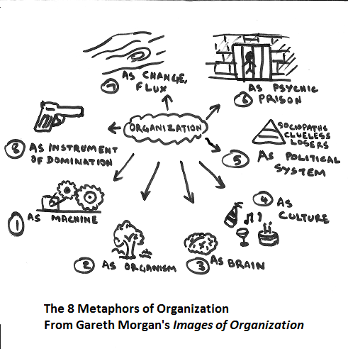 Model of organization behavior at a